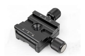 SunwayFoto DDB-53 Bi-directinoal Screw-Knob Clamp - Arca-Swiss Compatible