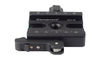 SunwayFoto DLC-60 Duo-lever Screw Clamp with Quick Release Lever