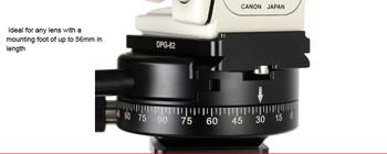 SunwayFoto DPG-62R Universal Arca Compatible Tripod/Head/Quick Release Lens Plate