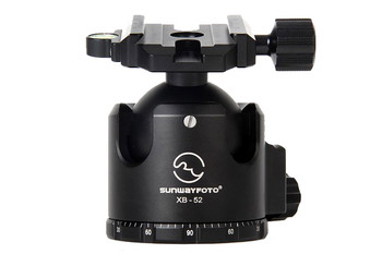 SunwayFoto XB-52 Series Superior Low-Profile Ball Head