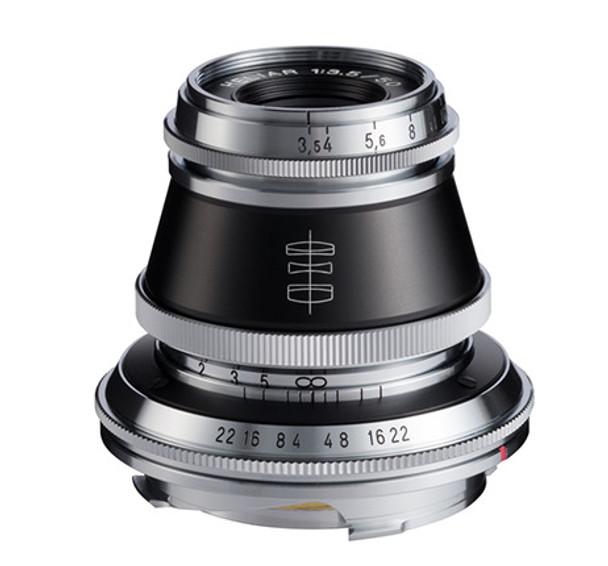 Voigtlander 50mm f/3.5 Heliar Chrome- M Mount (Open Box Special)