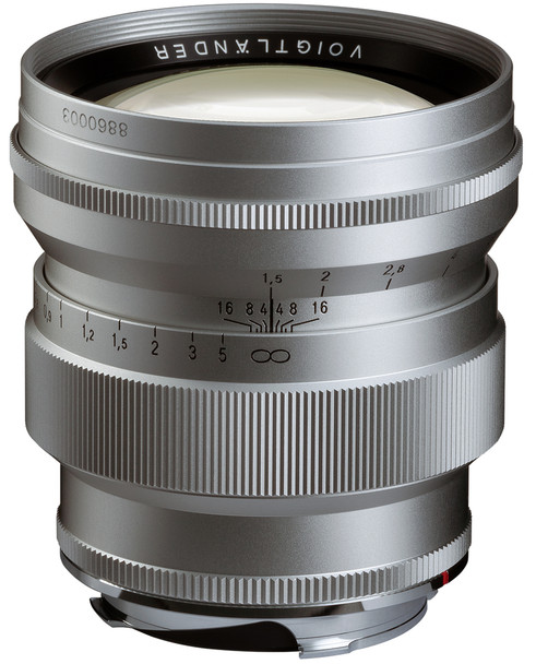 Voigtlander Nokton Vintage Line 75mm f/1.5 Aspherical (Silver) - Leica M Mount