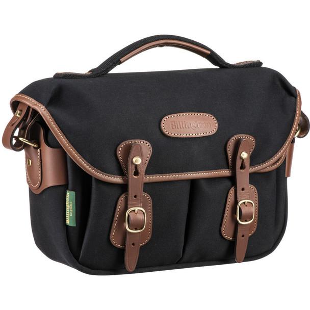 Billingham Hadley One Camera Bag (Black with Tan Leather)
