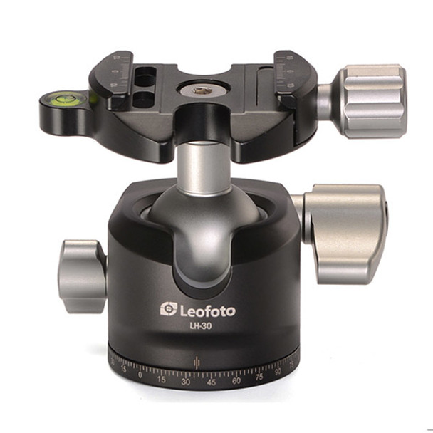 Leofoto LH-30 Low Profile Ball Head with BPL-50 Plate