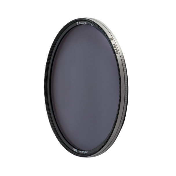 77mm NiSi Ti Enhanced CPL Circular Polarizer Filter (Titanium Frame)