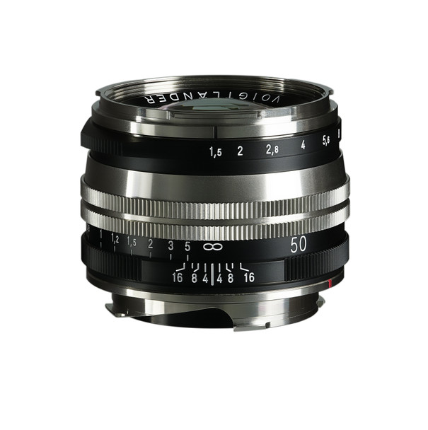 Voigtlander NOKTON Vintage Line 50mm f/1.5 Aspherical II MC Lens (Nickel)