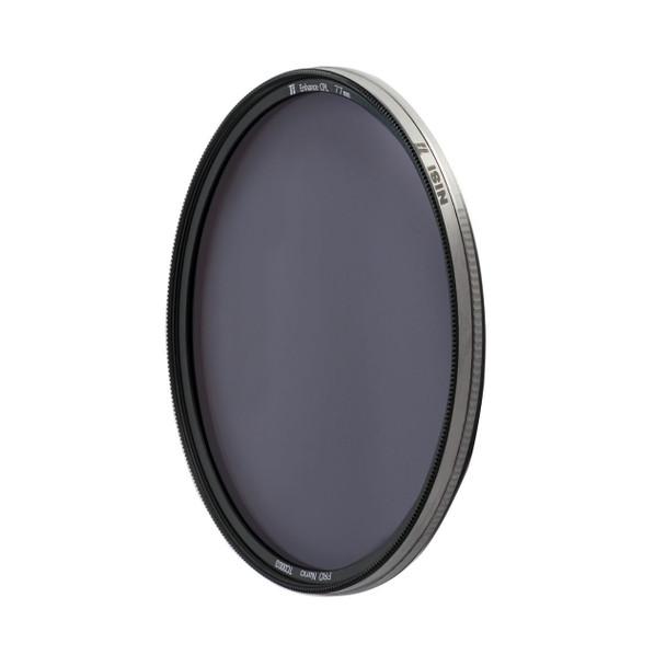 82mm NiSi Ti Enhanced CPL Circular Polariser Filter (Titanium Frame)