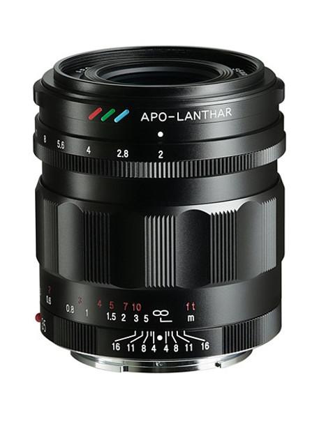 Voigtländer Apo-Lanthar 35mm f/2 Aspherical E Mount (Black)