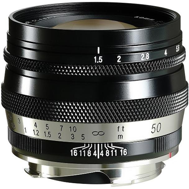 Voigtländer HELIAR Classic 50mm f/1.5 VM Lens (M-Mount)
