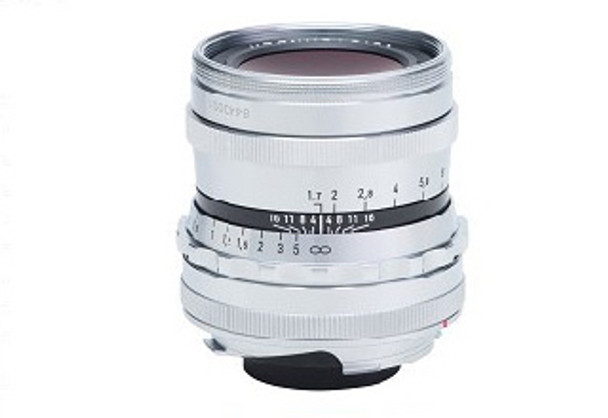 Voigtlander 35mm f/1.7 Ultron Vintage Line Lens (Silver/Chrome) - Leica M Mount