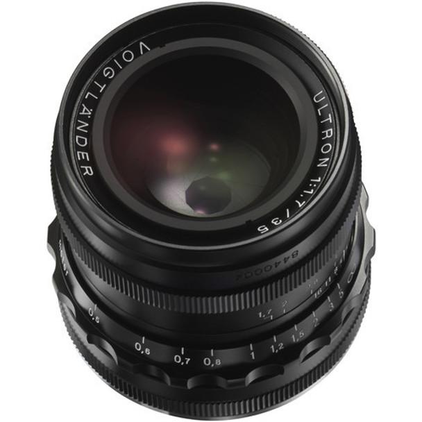 Voigtlander 35mm f1.7 Ultron Vintage Line Lens (Black) - Leica M Mount