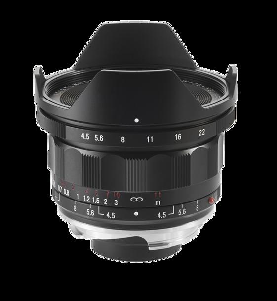 Voigtlander 15mm f4.5 Super Wide Heliar III Lens - Leica M Mount