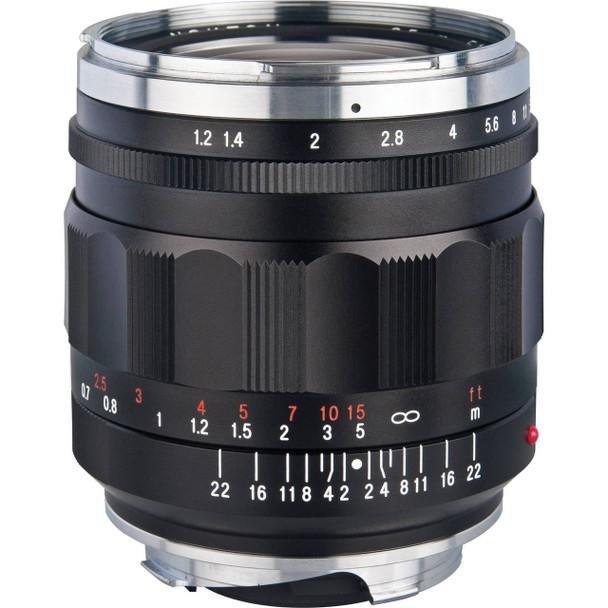Voigtlander 35mm f/1.2 Nokton Aspherical II Lens (Black) - Leica M Mount (Discontinued)