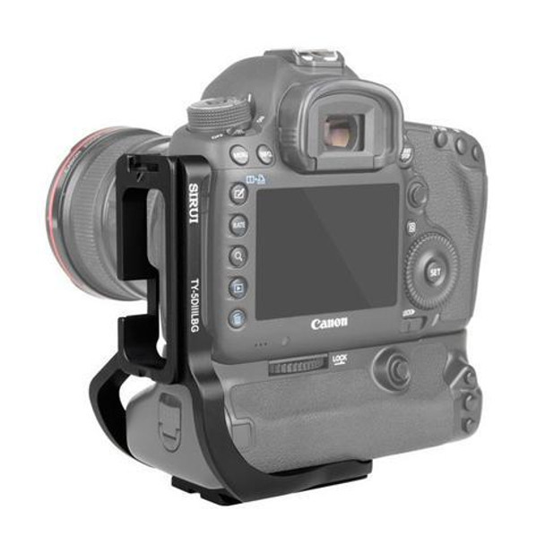 Sirui TY-5DIIILBG L-Bracket For Canon EOS 5D Mark III And 5Ds R/5Ds with Battery Grip
