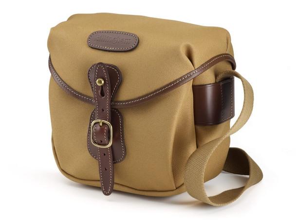 Billingham Hadley Digital FibreNyte - Khaki with Chocolate Leather