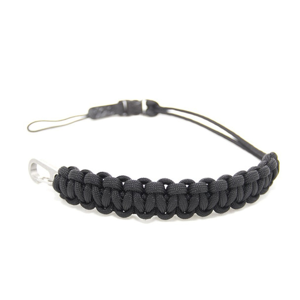 DSPTCH Camera Wrist Strap - Braided with quick release Black Colour