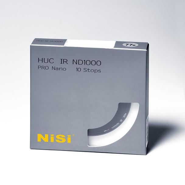 77mm NiSi 10 Stop Nano IR Neutral Density Filter