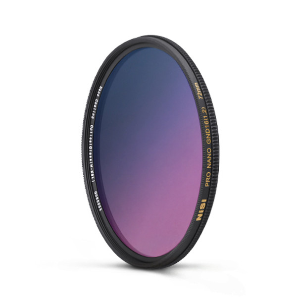 NiSi 77mm Nano Coating Graduated Neutral Density Filter GND16 1.2 (4 Stops)