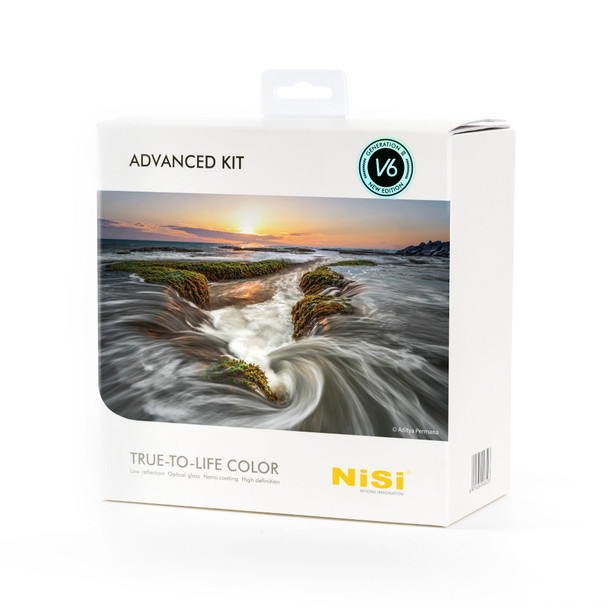 NiSi 100mm Advanced Kit Third Generation III with V6 and Landscape CPL