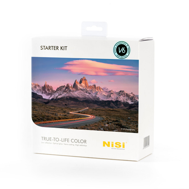NiSi 100mm Starter Kit Third Generation III with V6 and Pro CPL