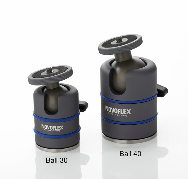 Novoflex Ball 40 Head (Usually ships in 7 to 14 days)