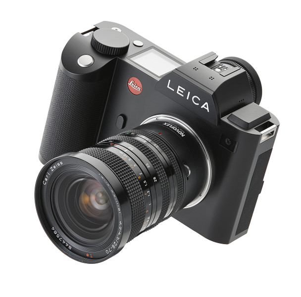 Novoflex LET/CONT Adapter - Contax/Yashica Lenses to Leica T (SL) Camera Mount. Availability 7 to 21 days.