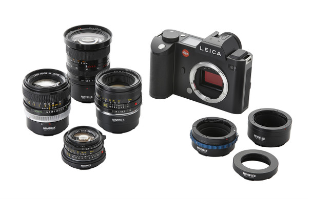 Novoflex LET/OM Adapter - Olympus OM Lenses to Leica L Camera Mount (CL/T/TL/SL). Availability 7 to 21 days.