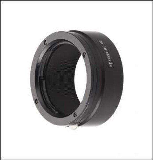 Novoflex NEX/MIN-MD Adapter - Minolta MD Lenses to Sony E-Mount. Availability 7 to 14 days.