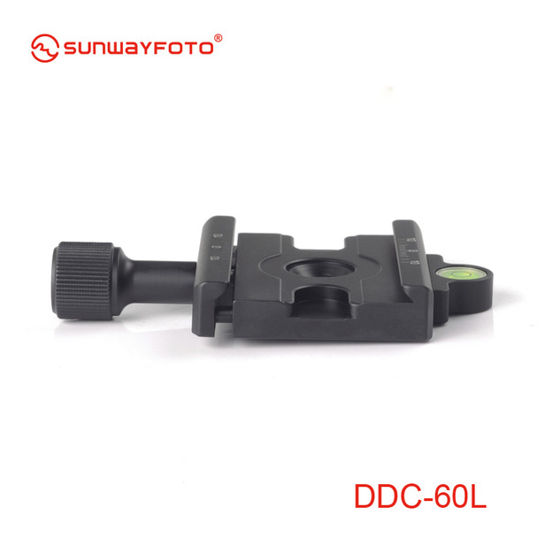 SunwayFoto DDC-60L Screw-Knob Clamp - Arca-Swiss Compatible
