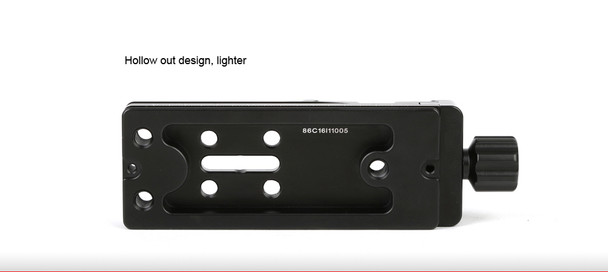 SunwayFoto DMP-100R Multi-Purpose Rail Nodal Slide with Screw-knob Clamp