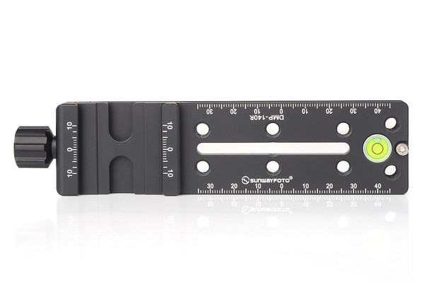 SunwayFoto DMP-140R Multi-Purpose Rail Nodal Slide with Screw-knob Arca Compatible Clamp