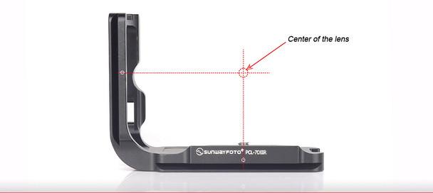SunwayFoto PCL-7DIIR Custom L Bracket for Canon 7DII Body