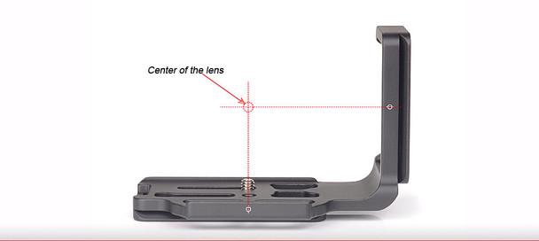 SunwayFoto PNL-D600R L Bracket for Nikon D600/D610 Body (without Battery Grip)