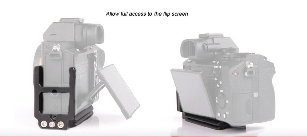 SunwayFoto PSL-A7RII Custom L Bracket for Sony A7sII, A7II & A7RII
