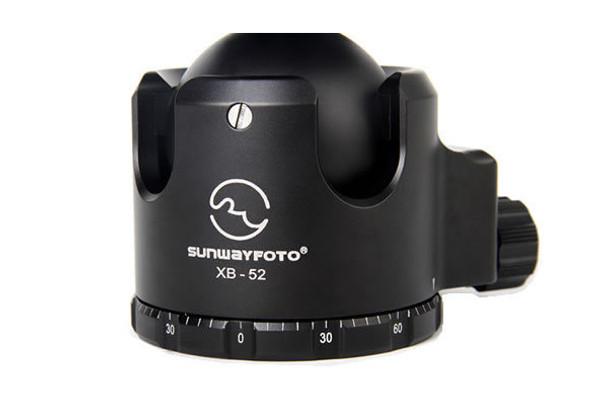 SunwayFoto XB-52 Series Superior Low-Profile Ball Head