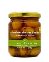 Les Moulins Mahjoub- Natural Meski Olives w/ Harissa (organic)