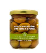 Les Moulins Mahjoub- Natural Meski Olives w/ Lemon & Fennel (organic)