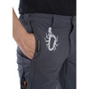 Grey Spider Tree Climbing Pants Logo