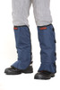 Clogger Blue velcro front view