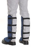 Clogger Blue velcro back view