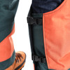 Clogger DefenderPRO chaps Arborist Edition zoom calf protection view