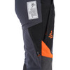 Clogger Women's Ascend Chainsaw Pants Zoom UL side