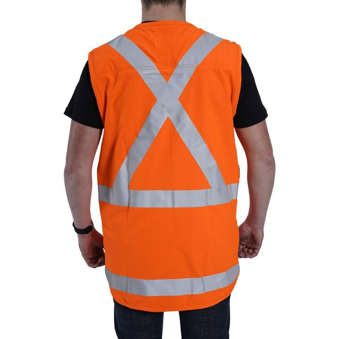Clogger day/night vest back