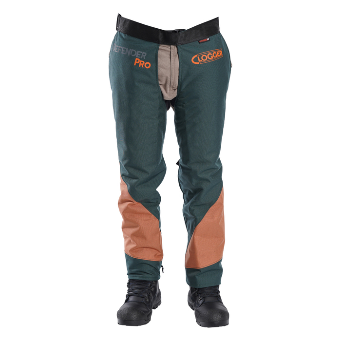 Clogger DefenderPRO chaps Arborist Edition front view