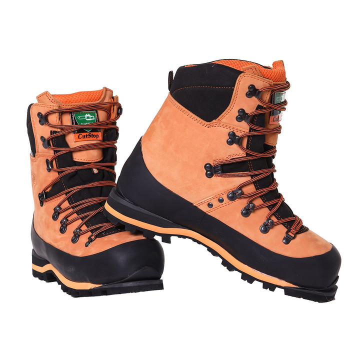 Clogger Chainsaw Boots (pair) angle view