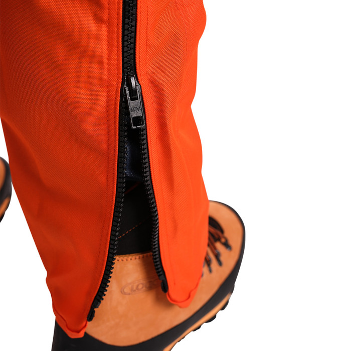 C8 chainsaw chap zipped style zoom