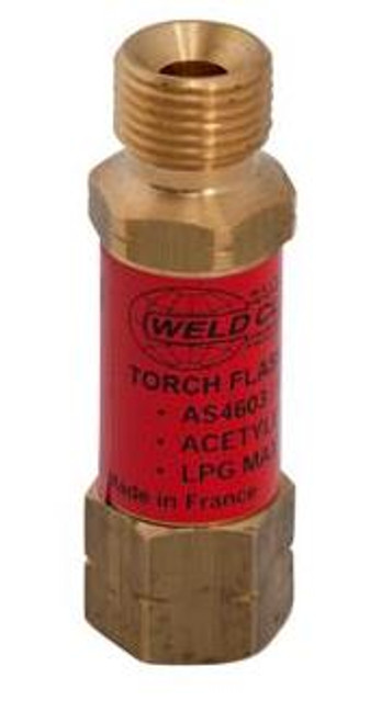 WELDCLASS FLASHBACK ARRESTOR TORCH/FUEL