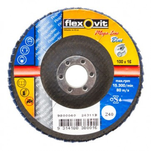 100MM FLEXOVIT FLAP DISC