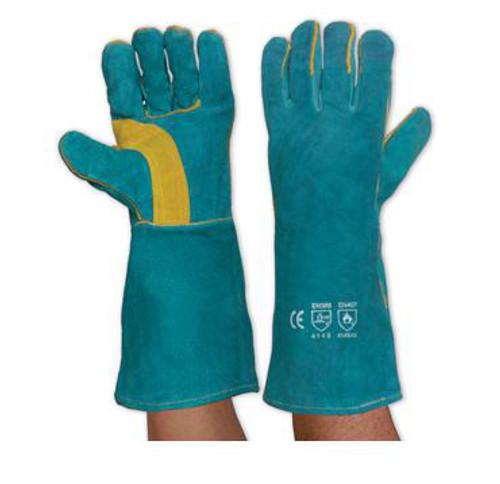 LEFT HAND PAIR GREEN WELDERS