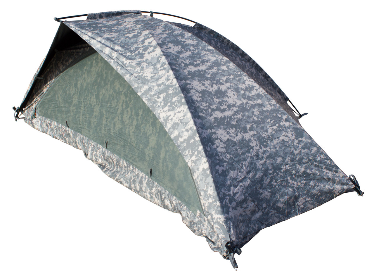 US Military Army ACU Improved Combat Shelter ICS ORC One Man Tent VGC